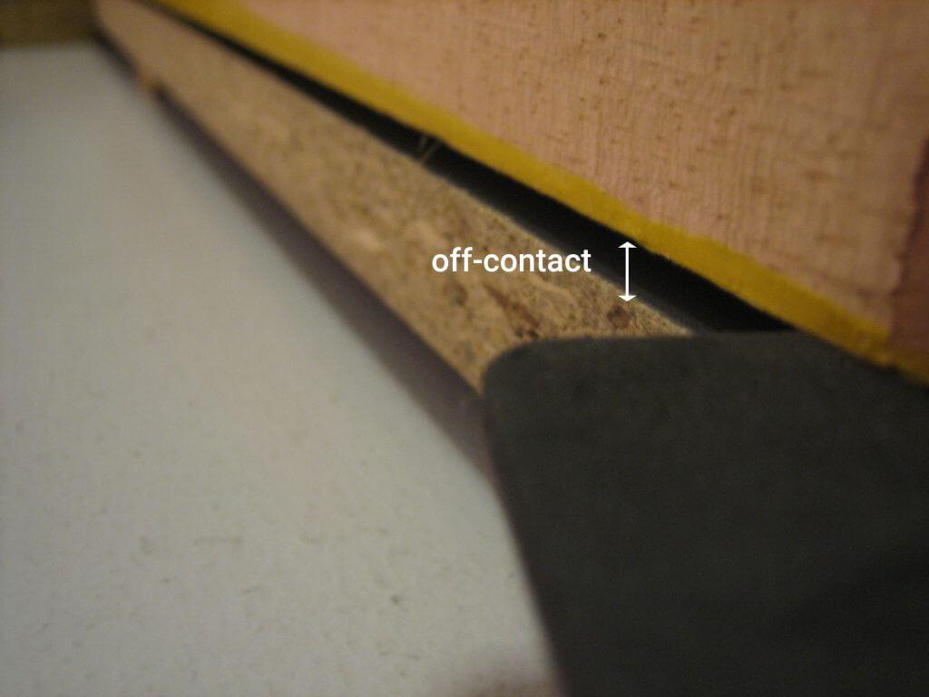 1-Color DIY screen printing press - off contact