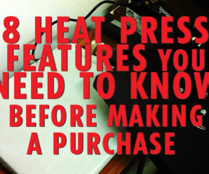 8 Heat Press Features You Need to Know Before Making a Purchase