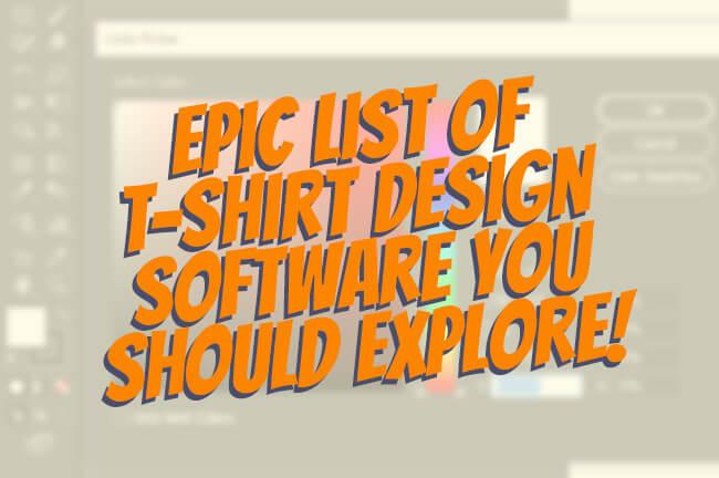 t-shirt design software main image