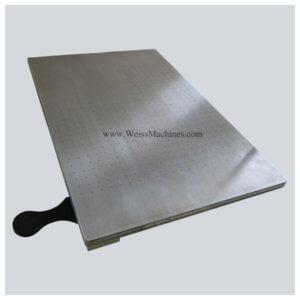 plastisol transfers - vacuum platen