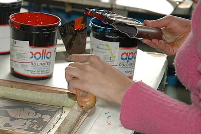 water-based or plastisol inks - live